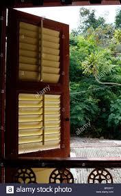 wooden louvre window stock photos u0026 wooden louvre window stock
