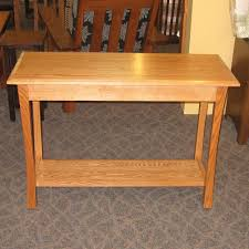 Amish End Tables by Tyron Style Sofa Table Amish Oak