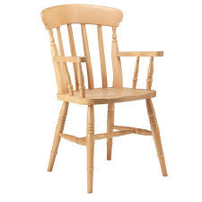 Slat Back Dining Chairs Slat Back Carver Dining Chair U2013 Ely Farmhouse Furniture