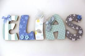 bricolage chambre bébé lettres en bois prénom enfant décoration chambre bébé