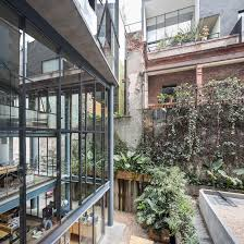 derelict 19th century mexico city home transformed into mixed use