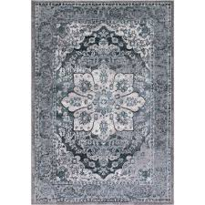 Concord Global Area Rugs Concord Global Trading Thema Serapi Teal 7 Ft 10 In X 10 Ft 6