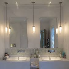 Lighting For Bathroom Mirrors Awesome Pendant Lights For Bathroom Pendant Lighting Home Depot