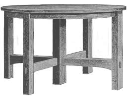 mission style table ls the project gutenberg ebook of mission furniture how to make it