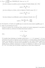 transfert de si e precision rejet de perturbations t d g e i i pdf