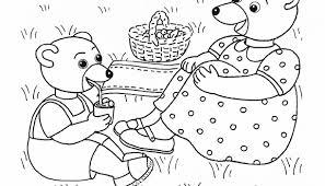 Coloriage Petit Ours Brun  Dessins  Activités pour enfants
