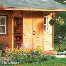 how to build a backyard storage shed
