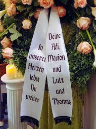 trauersprüche für kränze schleifentexte bestattungsinstitut günthner