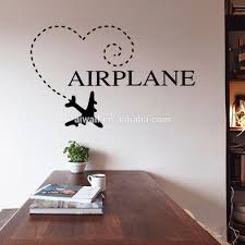9286 airplane wall stickers wholesale high quality airplane