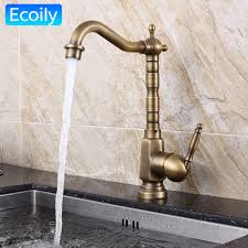 retro kitchen faucet new design solid brass bronze swivel retro kitchen faucet american