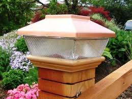Led Solar Deck Lights - amazon com copper top solar led light 4