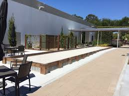 pacific pearl natural bocce ball court surface bocce builders of