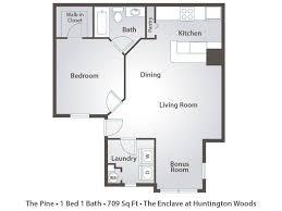apartment floor plans u0026 pricing u2013 the enclave at huntington woods