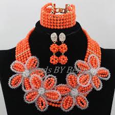 wedding bead necklace images 2017 new nigerian wedding beads necklace indian bridal jewelry jpg