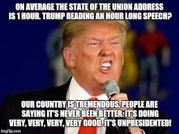 Union Memes - trump s state of the union address imgflip