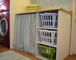 laundry room chic built in laundry hamper how to build a room