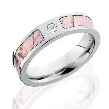 pink wedding rings pink camo wedding bands black zirconium camo wedding rings