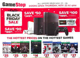 black friday 2017 gamestop offers deals on consoles and