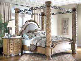 Metal Canopy Bed Frame Wood Canopy Bedback To Strong Metal Canopy Bed Frame Queen Cherry