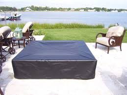 Custom Made Patio Furniture Covers by Custom Fabricated Fire Pit Covers
