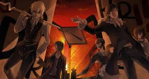 halloween anime background durarara anime wallpapers hd 40 photos