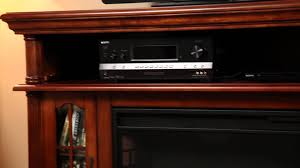 allen u0026 roth electric fireplace 65646 youtube