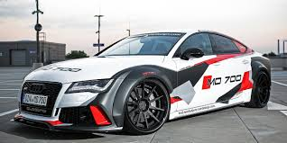 audi a7 modified m u0026d exclusive car design boosts audi s7 to 690 hp