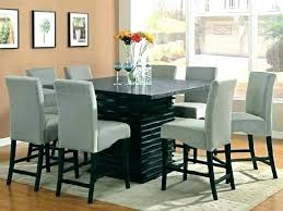 square dining table set for 8 8 seater table and chairs top 8 square dining room table within