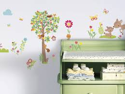 wall kids room wall decals delicate tree wall decal for