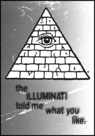 warehouse 23 illuminati greeting card