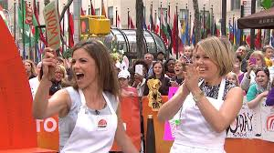dylan on today show haircut natalie dylan win cooking face off on plaza today com