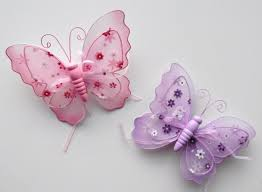 girls curtains purple curtains for girls room butterfly clips