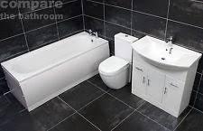 vanity bathroom suites with taps ebay
