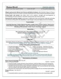 Financial Advisor Resume Examples by Mechanical Engineering Resume Examples Google Search Resumes