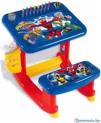 bureau plastique enfant bureau plastique enfant a vendre 2ememain be