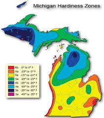 Climate Zones For Gardening - visit ludington michigan plant hardiness zones