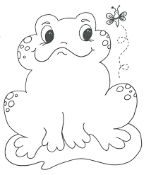 crazy frog coloring page frog coloring pages free printable free coloring page