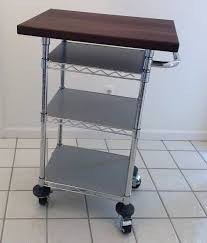 kitchen carts microwave stand with storage kmart white stainless