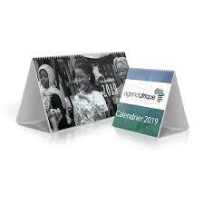 calendrier photo bureau calendrier de bureau chevalet agenda afrique fabricant imprimeur