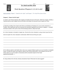 jekyll and hyde chapter 2 themes dr jekyll and mr hyde