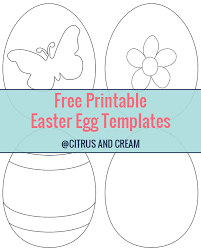 free easter templates printables u2013 happy easter 2017