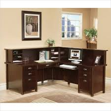 l shaped desk with hutch and two other models u2014 bitdigest design