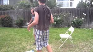 xfw backyard wrestling championship match gorilla man