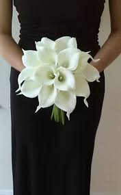 flower bouquet for wedding this is so white calla bridal bouquet wedding