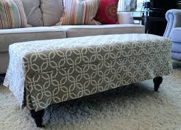 Stretch Ottoman Slipcover Slipcovers Ottoman Covers Jessicastable Co