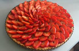 vervenne cuisine tarte aux fraises crème pâtissière à la verveine citronnelle la