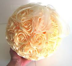 Flower Balls Great Crepe Paper Flower Ball Ivory Wedding Hanging Wedding