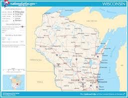 Lake Winnebago Map Liste Der Städte In Wisconsin