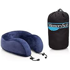 amazon com cabeau evolution memory foam travel pillow the best