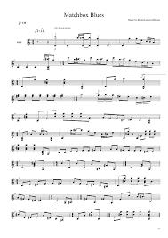 Blind Lemon Jefferson Matchbox Blues ноты для гитары блюз ноты для гитары